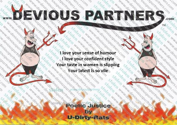 devious partners men,humour